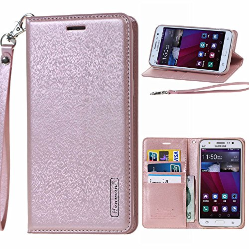 Go Crazzy Sony Xperia X New Hanman Genuine Leather Wallet Flip Case Cover For Sony Xperia X (Rose gold)  available at amazon for Rs.899