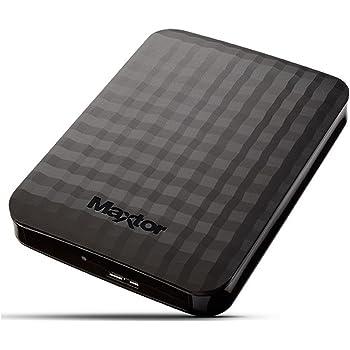 Maxtor STSHX-M201TCBM Disque Dur Externe 2 to USB 3.0 Noir