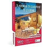 Emozione3 - 3 Giorni Di Charme e 2 Cene - 560 Soggiorni Ricchi Di Sapore In Accoglienti Agriturismi e Hotel 3 Stelle, Cofanetto Regalo Gastronomici