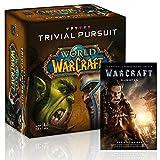 Unbekannt World of Warcraft Trivial Pursuit + Buch zur Vorgeschichte des Films