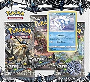 PoKéMoN 45032 Company International PKM SM05 3-Pack Ampolla de Cartas coleccionables