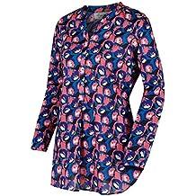 Regatta MacKayla camisas de las mujeres, mujer, color azul marino, tamaño talla 20