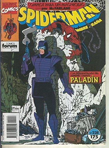 Spiderman volumen 1 numero 228: Complot para un magnicidio