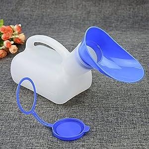 Unisex Urinflasche für Krankenhaus, Camping, Auto, Reise, Toilette, 1000 ml