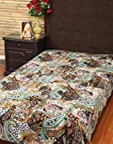 Comforters Bedsheets Cotton Coffee Print...