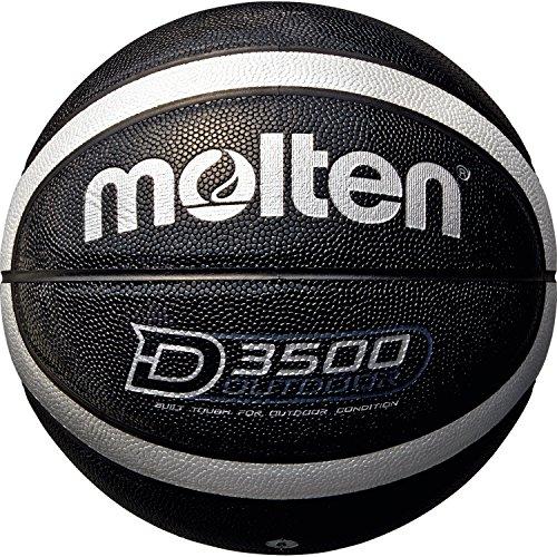 Molten Damen B6D3500-KS Basketball, Schwarz, 6