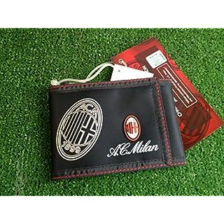 Geldbörse Schwarz offizielle A.C. Milan