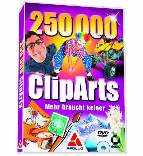 250000 ClipArts - Mehr braucht keiner (DVD-ROM)