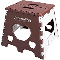 Primelife 12 Inches Super Strong Folding Step Stool for Adults and Kids, Kitchen Stepping Stools, Garden Step Stool…