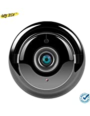 Mini WiFi Full HD Spy IP Camera Hidden Wireless CCTV Security with Microphone Cloud Based Storage Night Vision Motion Detection Two Way Communication Supports SD Card for Home, Bathroom and car