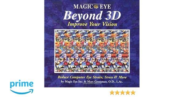 Magic Eye Beyond 3D: Improve Your Vision with Magic Eye: Amazon.it ...