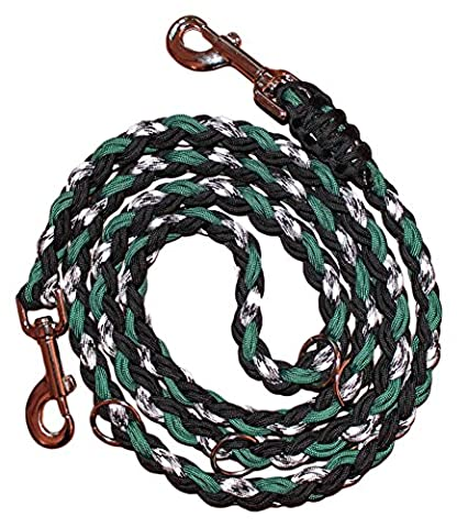 Leashes by Liz Cord Police Training Dog Lead, 1.83 m, Green Ghost