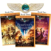 The Kane Chronicles: The Red Pyramid / the Throne of Fire / the Serpent's Shadow