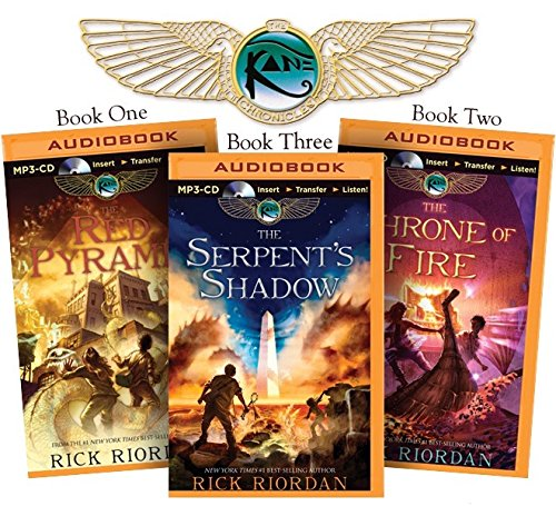 Rick Riordan's the Kane Chronicles (Bundle): The Red Pyramid, the Throne of Fire, the Serpent's Shadow Mp3-bundle