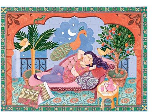 """Produktbild djeco Djeco Puzzle """"Der Traum von Salome"""" Pink"""