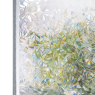 Homein Fensterfolie Selbstklebend mit Lichtspiel Glanzoptik Bunt Bruchglas von HOMEIN CO.,LTD - TapetenShop