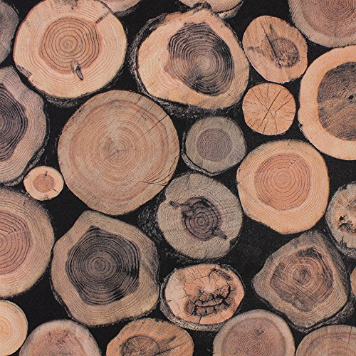 xiajingjing-imitation-wood-grain-stakes-new-classical-chinese-wallpaper-wallpapers-wood-stump-porch-