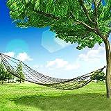 Filet Hamac/Voyage Outdoor Camping Loisirs Filet Hamac dans l'armée vert/Longueur de la corde: 250cm