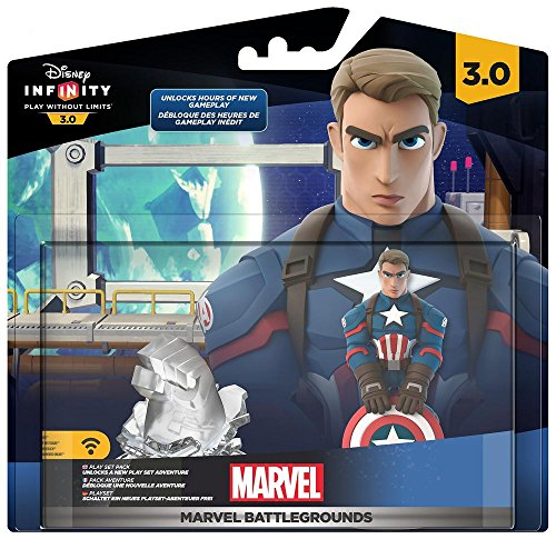 Disney Infinity 3.0 Marvel Playset Battlegrounds Hybrid Toy