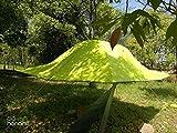 FHGJ Tienda De Árbol Colgante Triángulo Tiendas Colgantes Hamaca Colgante Acampar Senderismo Rally Cama Al Aire Libre Doble Lluvia,Yellow