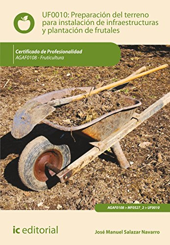 Preparación del terreno para la instalación de infraestructuras y plantación de frutales. agaf0108 - fruticultura por José Manuel Salazar Navarro