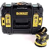 DeWALT DCW210NT-XJ DCW210NT-XJ-Lijadora Rotorbital sin escobillas XR 18V Ø125mm Electrónica sin cargador/batería con maletín