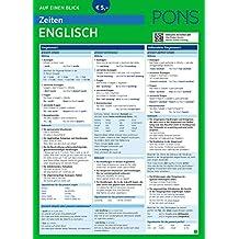 PONS Zeiten auf einen Blick Englisch: Alle englischen Zeiten im Überblick (PONS Auf einen Blick)