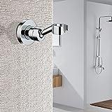 Hifina Brausehalter für Handbrause / duschkopfhalterung / Verstellbarer Messing Duschkopfhalter,...