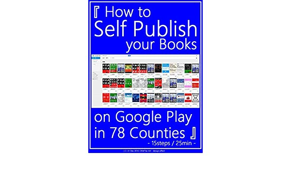How to Self Publish your Books on Google Play in 78 Counties