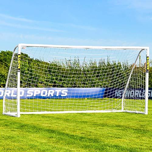 FORZA Match But de Football PVC avec Filet (Large Gamme de Tailles) (4m x 2m)