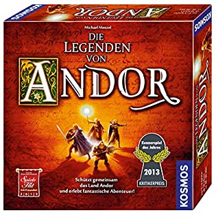 KOSMOS 691745 - Die Legenden von Andor, Kennerspiel des Jahres 2013 (B0088UZZJK) | Amazon price tracker / tracking, Amazon price history charts, Amazon price watches, Amazon price drop alerts
