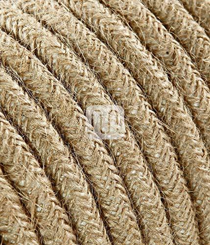 Cable eléctrico redonda madera revestimiento