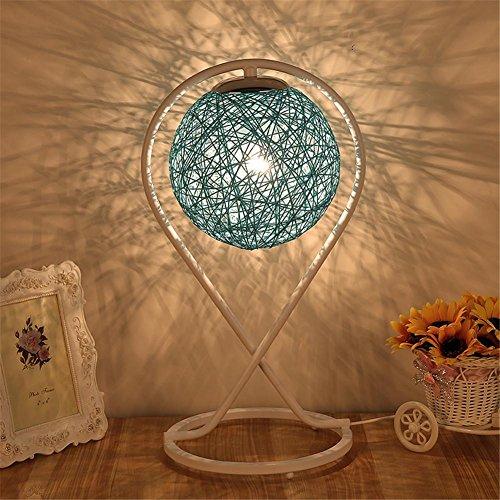Tischlampe Creative Hanf Ball Nachtlicht Mode Kunst Wohnzimmer Dekoration Dimmen Lampe Schlafzimmer Bett , 3