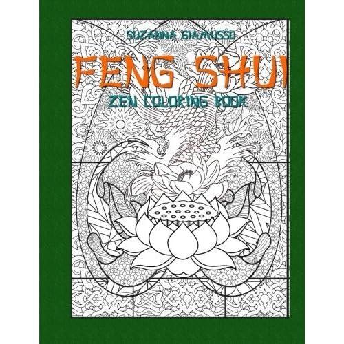 Feng Shui: Zen Coloring Book by Suzanna Giamusso (2015-08-19)