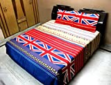 INDIANO 5D Polycotton Double Bedsheet wi...