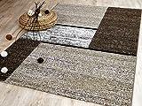 Tango Designer Teppich Beige Trend in 5 Größen REDUZIERT