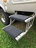 Caravan Wohnmobil Fußmatte, maschinenwaschbar, Gummi-Rückseite, rutschfest