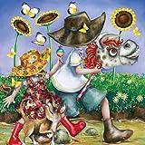 Das Steckenpferd - Hayley Gillespie 500 Teile Quadratpuzzle - Masterpieces Puzzle