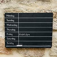 Sass & Belle Weekly planner chalkboard