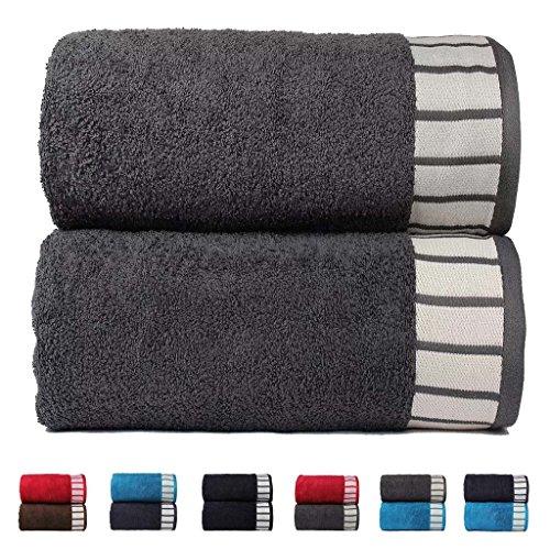 trident-his-her-collezione-set-di-2-asciugamani-da-bagno-in-cotone-qualita-550-g-m-colore-grigio