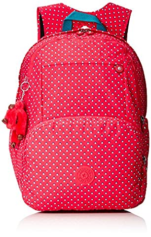 Kipling - Hahnee - Grand sac à dos - Rose (Pink Summer Pop) - (Multi - couleur)