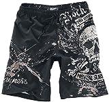 Rock Rebel by EMP Swim Shorts Badeshorts schwarz XL