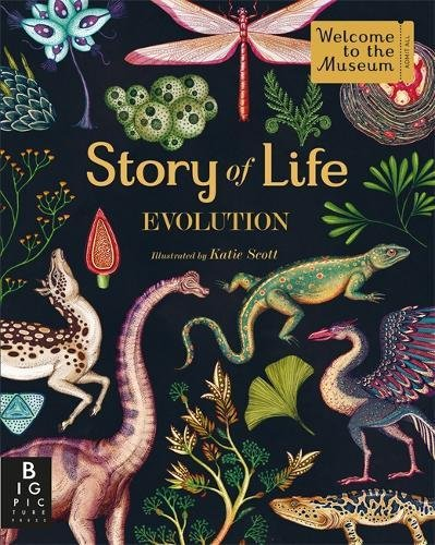 Story Of Life. Evolution (Welcome To The Museum) por Katie Scott