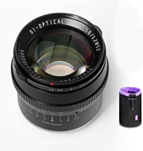 Ttartisan 50mm F1 2 Manuelles Fokussiertes Objektiv Mit Kamera
