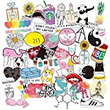 Stickers for Laptop, Cute Trendy Graffiti Sticker Decals Vinyl Stickers for Water Bottles Car Bike Bumper Skateboard Luggage