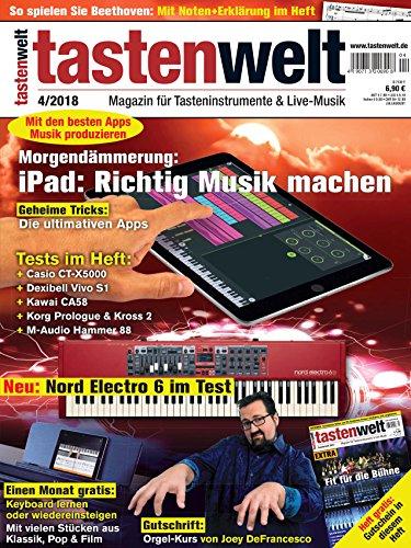 mit iPad richtig Musik machen - die besten Apps - Tastenwelt Magazin