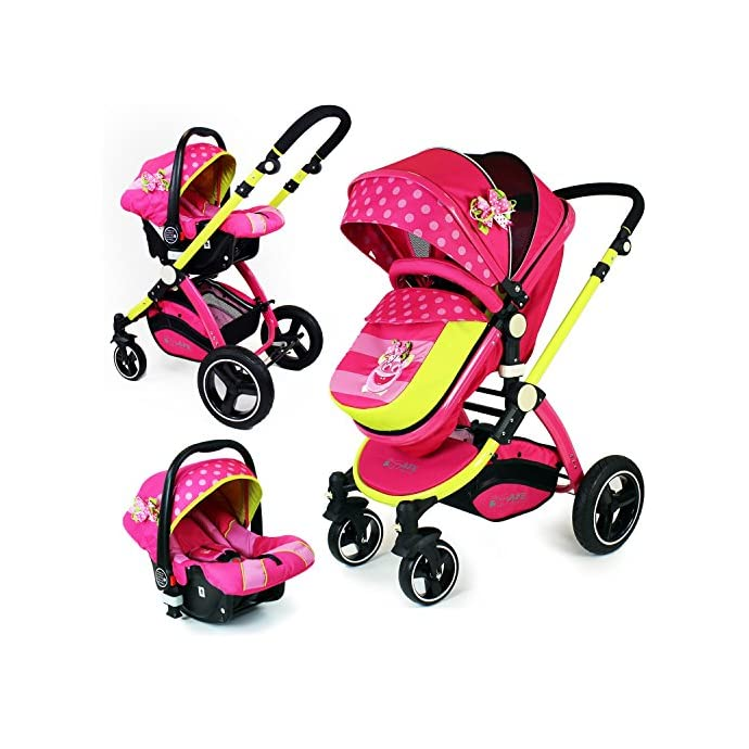 i-Safe System - Mea Lux Travel System and Luxury Pram