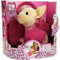Chi Chi Love - Peluche con bolso, color rosa / rojo (Simba 5892182)