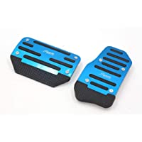 NXSAM Stainless Steel Car Fuel Gas Pedals Brake Pedal Protector Cover for Peugeot 2008 207 CC SW GTI RC 208 GTI 308CC AT//MT Color Name : 2Pcs AT