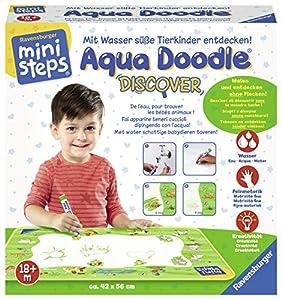 Ravensburger 04506-Mini Steps Aqua Doodle Discover